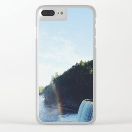 Tahquamenon Falls Clear iPhone Case