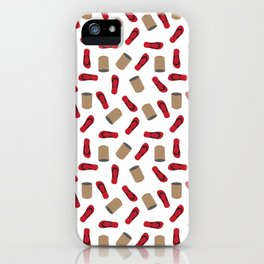 Tumbang Preso (Hit the Can) Red iPhone Case