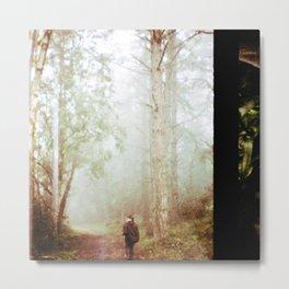 Forest  Lomography Metal Print