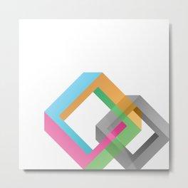 Penrose Diamonds Metal Print