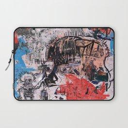 Basquiat Style Laptop Sleeve