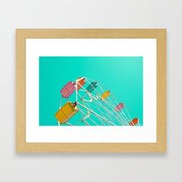 Ferris_Wheel - 2, Northern Michigan Framed Art Print