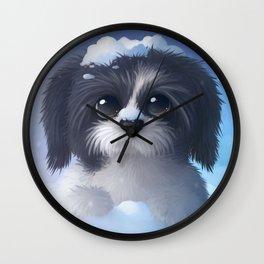 Shitzu Wall Clock