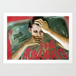 The Runaways Art Print