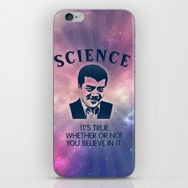 Science with Neil DeGrasse Tyson iPhone Skin