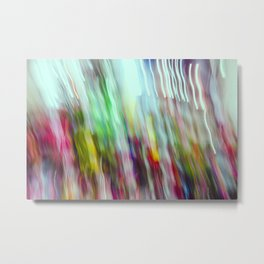 Flower Shop 01 - Abstract (everyday 21.01.2017) Metal Print