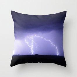 Thunderstorm Throw Pillow