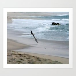 flying so close togther Art Print