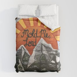 Mold Me Lord Isaiah 64:8 Duvet Cover
