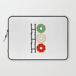 Ho Ho Ho - Holiday Donuts Laptop Sleeve