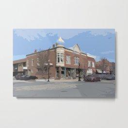 Small Town Metal Print