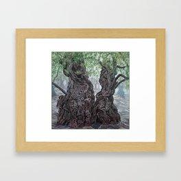 Garden of Prayer Framed Art Print
