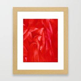 Bes Red Framed Art Print