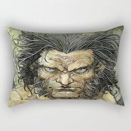 Logan by Roger Cruz Rectangular Pillow