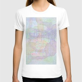 Words and Water Paint T-shirt