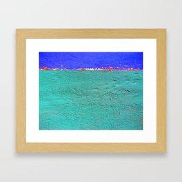 Horizon on Fire Framed Art Print