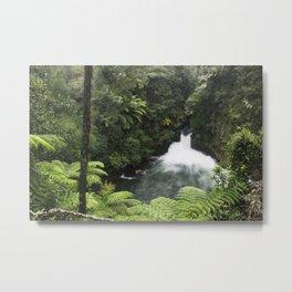 Kaituna Waterfall 2 Metal Print