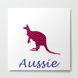 Aussie  Metal Print