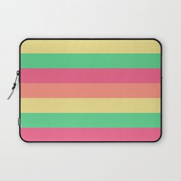 Four Tone Stripes - Tropical Laptop Sleeve