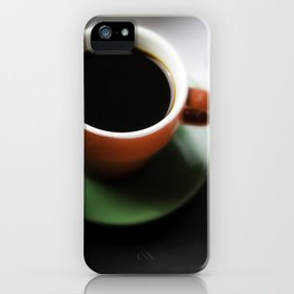 Coffee break over art iPhone Case