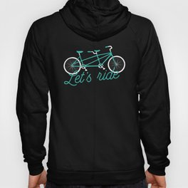 Let's Ride Tandem Bicycle Hoody