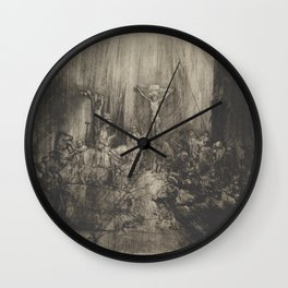 The Three Crosses, 4th State Wall Clock