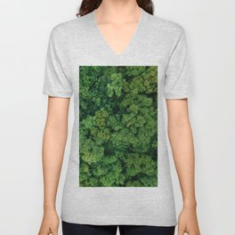 Greenery Forest (Color) Unisex V-Neck