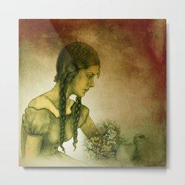 dreaming girl -1- Metal Print