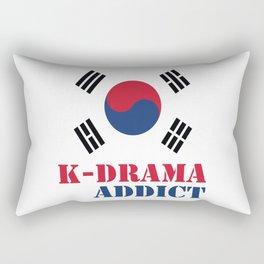 K-drama Addict Rectangular Pillow