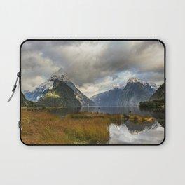 Mitre Peak, Milford Sound, New Zealand Laptop Sleeve