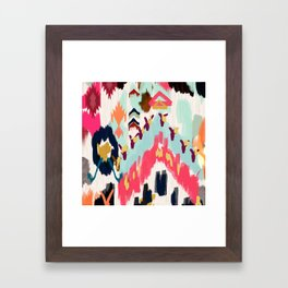 Bohemian Tribal Painting Framed Art Print