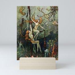 """""""Sea Nymphs"""" by Warwick Goble Mini Art Print"""