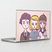 the royal tenenbaums Laptop & iPad Skins featuring Tenenbaums by Pilotinta