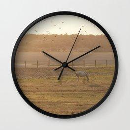 La luz Wall Clock