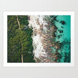 View from the Top Art Print