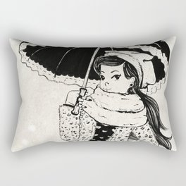 Rock Winter 2 Rectangular Pillow