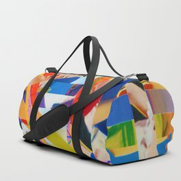 Bird's Nest Stripes 6 Duffle Bag