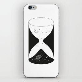 Spacial Hourglass iPhone Skin
