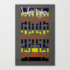 Eastachi -Wezteka Union. Canvas Print