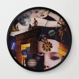 Many, Many Moons Ago Wall Clock