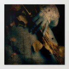 Dead beauty Canvas Print