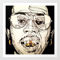 Trinidad Jame$ Art Print