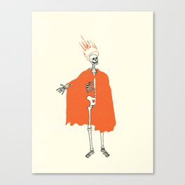 Skeletal Series 1 Canvas Print