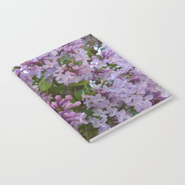 Lilac ~ Periwinkle Notebook