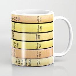 Nancy Drew Vintage Books Coffee Mug