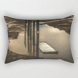 Washington Boat Launch Dock Rectangular Pillow