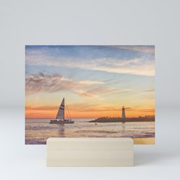 Santa Cruz Cruise Mini Art Print