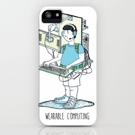 Wearable Computing iPhone Case