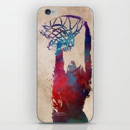basketball player #basketball #sport iPhone Skin