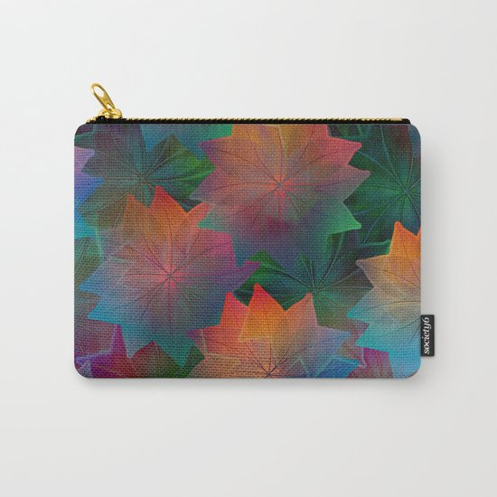 Skeleton Leaf Abstract 2 Carry-All Pouch